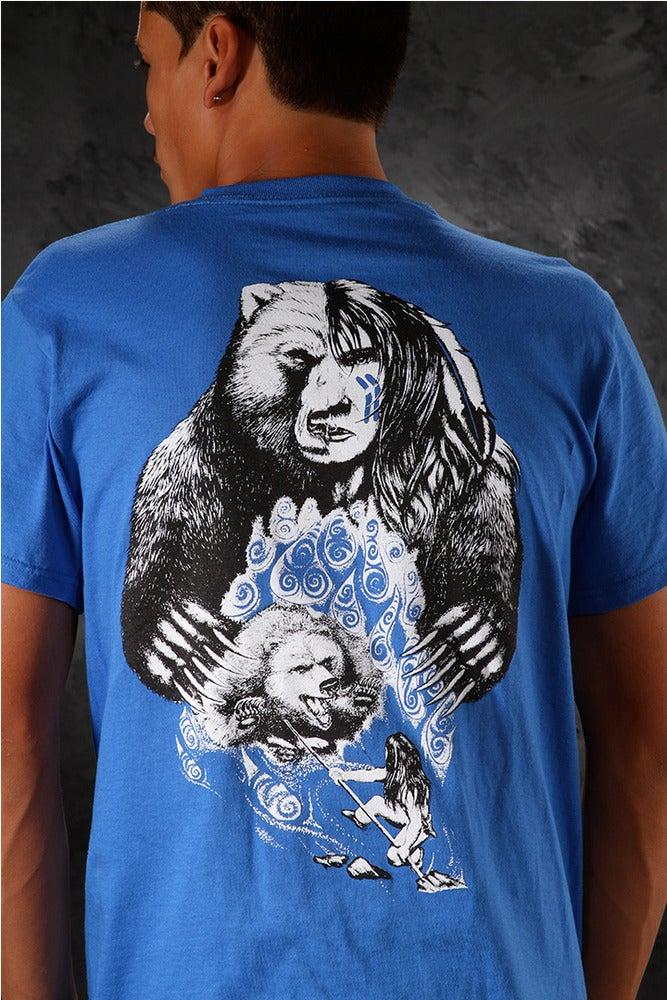 Image of Bear-Spear / Shirt - Blue