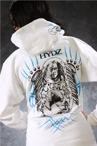 Image of Warrior / Zip-Up Hoodie - White