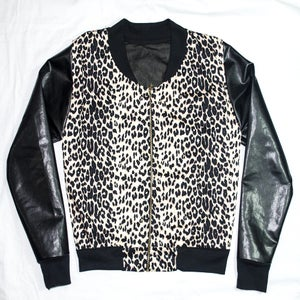Image of Leopard Print Jacket