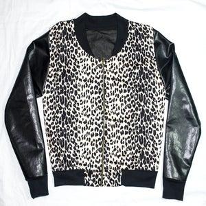Image of Leopard Print Jacket