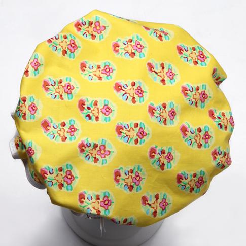 Image of Showercap lemon with multi-coloured detail - regular size