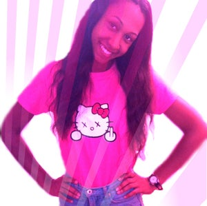 """Image of PRiVe """"Naughty Kitty"""" pink crew"""