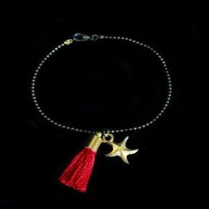 Image of Bracelet Pompon Rouge