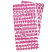 Image of {State It} – Pink Glitter Foam Stickers