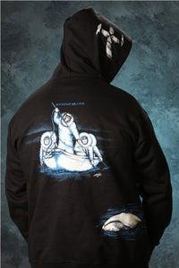Image of Whaling / Hoodie - Black