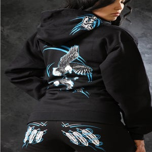 Image of Feather / Sweatpants - Black&Blue