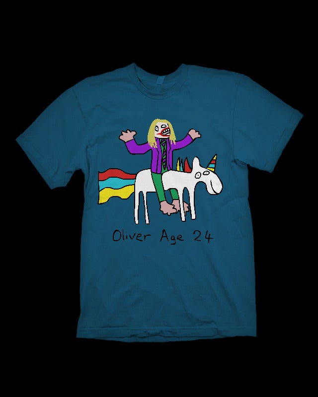 Image of Joker On A Unicorn T-Shirt