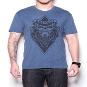 Image of WOLF PREMIUM FIT- DENIM HEATHER