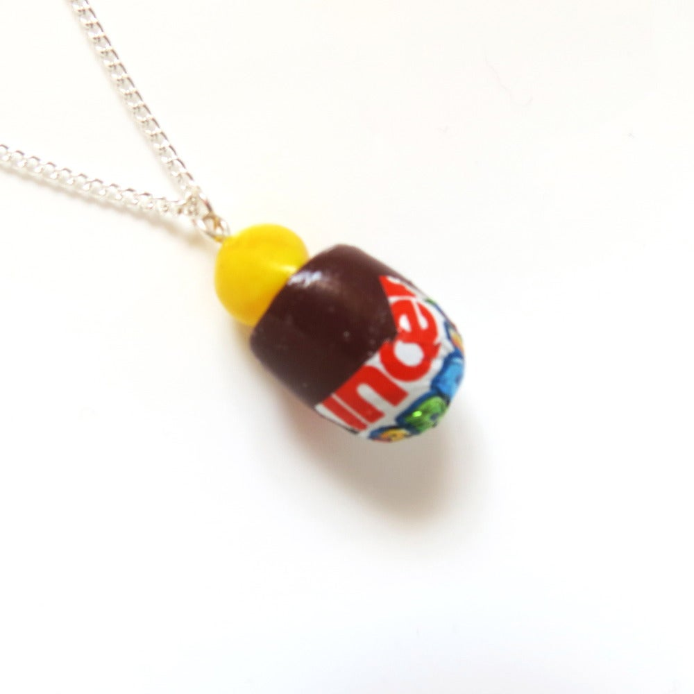 Image of Kinder Egg Necklace