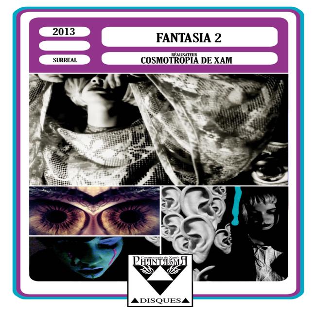 Image of FANTASIA 2 [DESIGN A] DVDr + CDr BOX