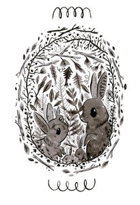 Image of rabbit cards