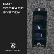 Image of Homiegear Authentic Cap Storage System for fitted, snapback, Flex Fit and more