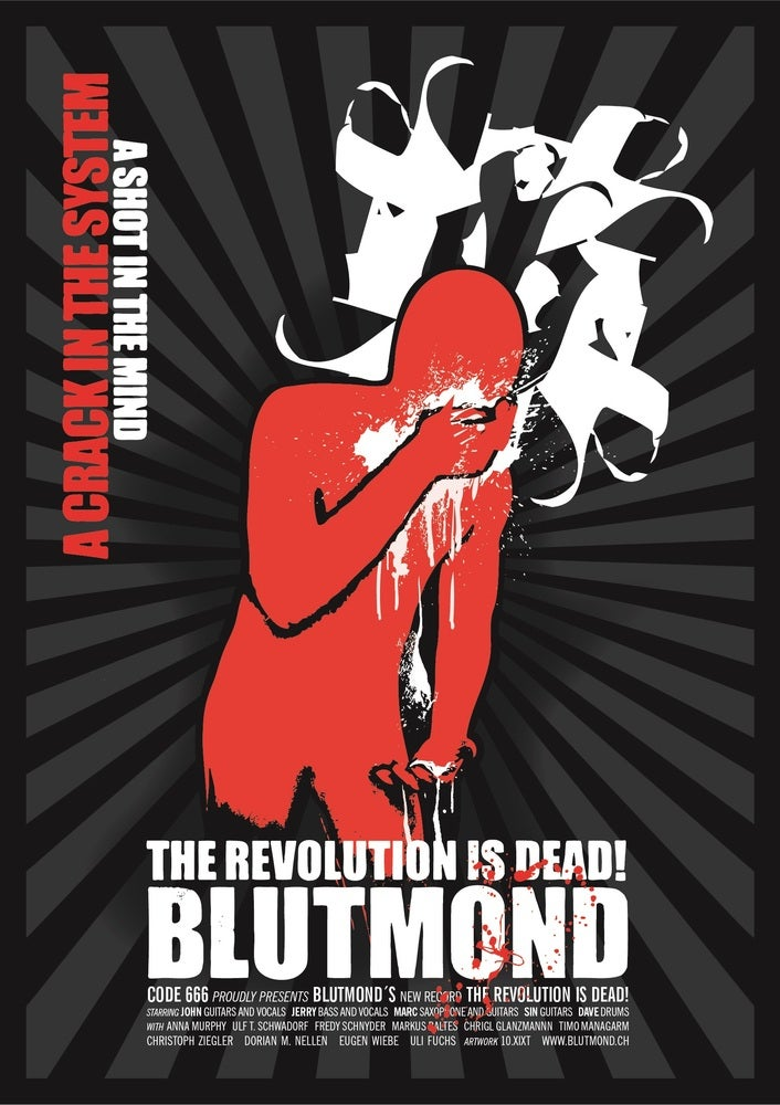 "Image of Blutmond Poster ""21st Century Prophets"""
