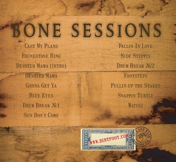 Image of Bone Sessions - CD