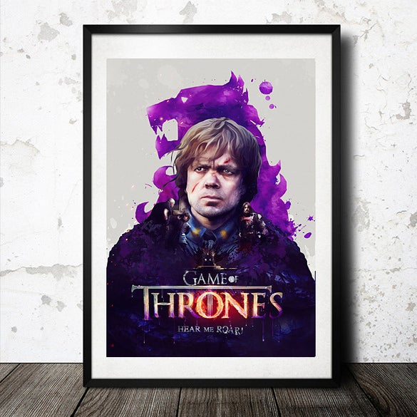 Image of Game of Thrones 'Hear me Roar' Poster Print