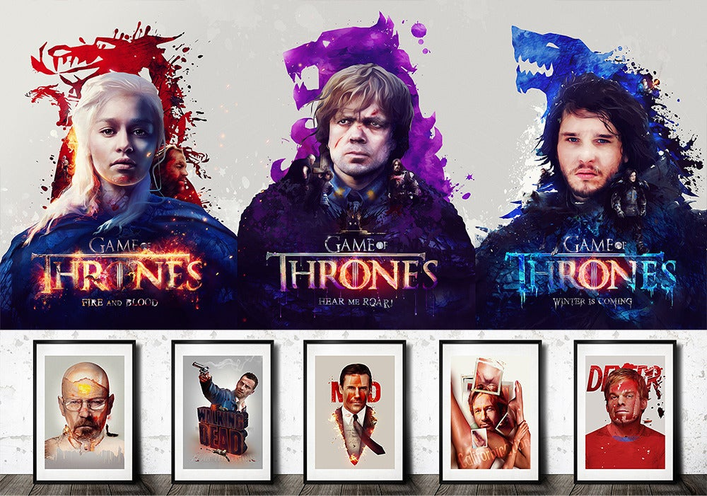 Image of Tv Series Poster Set (Series 1 & 2)
