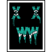 "Image of XWWX Munch Fiend ""Turquoise"" Version"