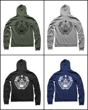 Image of MIR214 THE MIR COLLECTIVE Hoodie (7 COLORS)