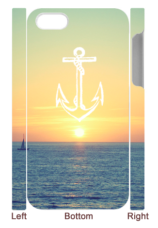 Image of Anchor Down This Cute Case!