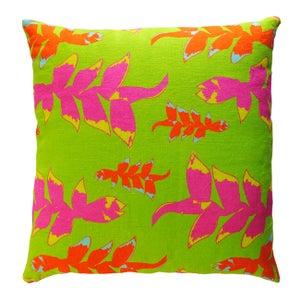 Image of Cushion - Hanging Heliconia