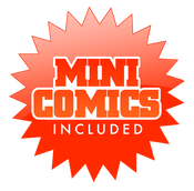 Image of Mini Comics Included Pack!