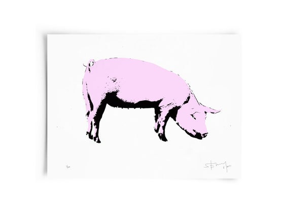 Image of Pig - Screenprint
