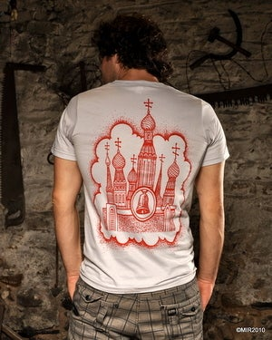 Image of MIR054 LENIN'S CATHEDRAL T-Shirt (7 COLORS)