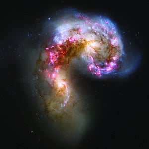 Image of The Antenna Galaxies