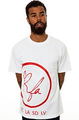 Image of RFA Logo (White&Red T-shirt)