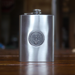 Image of Beard Token Stainless Steel Flask