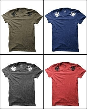 Image of MIR029 IMPERIAL EAGLES T-Shirt (7 COLORS)