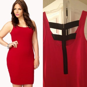 Image of Red Bodycon
