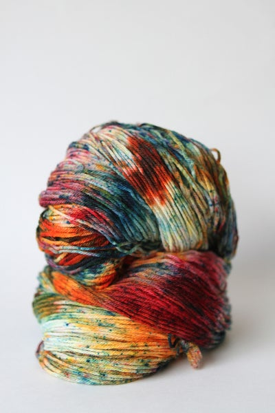 Image of serape - dyed to order