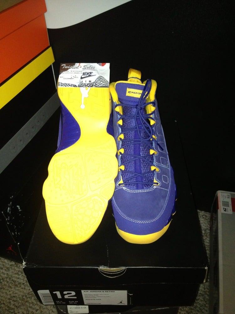 Image of Air Jordan Retro 9 Calvin Bailey