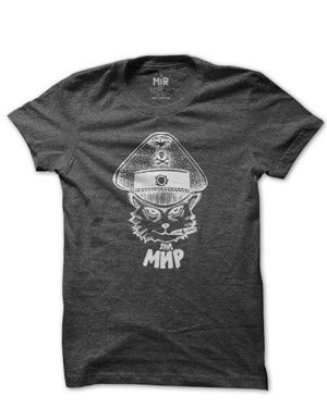 Image of MIR010 THE PANZER CAT T-Shirt  (7 COLORS)