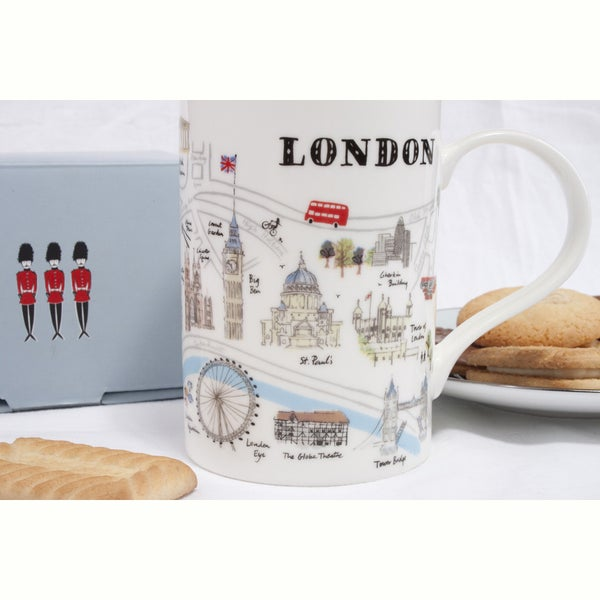 Alice Tait 'Map of London' Mug - Alice Tait Shop