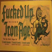 Image of Poster - Fucked Up vs. Iron Age, 2007
