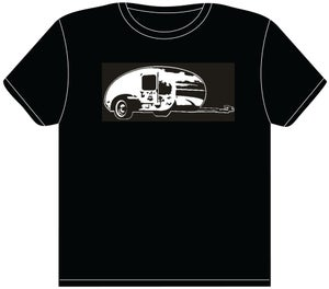 Image of Teardrop Trailer T Shirt
