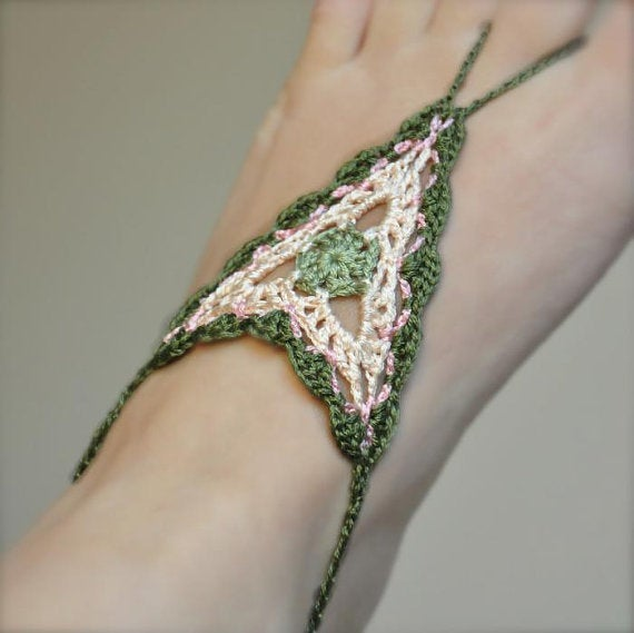 Image of PATTERN ONLY (PDF File) - Boho Barefoot Crochet Sandals