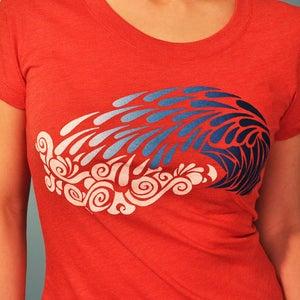 Image of Crashing Wave Women's Tshirt