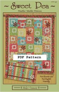 Image of PDF Sweet Pea Pattern