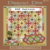 Image of PDF Diamond Diva Pattern