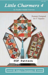 Image of PDF Little Charmers 4 Pattern
