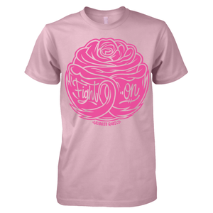 Image of Fight On Breast Cancer Shirt by Tom Newell