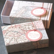 Image of Vintage Map Box
