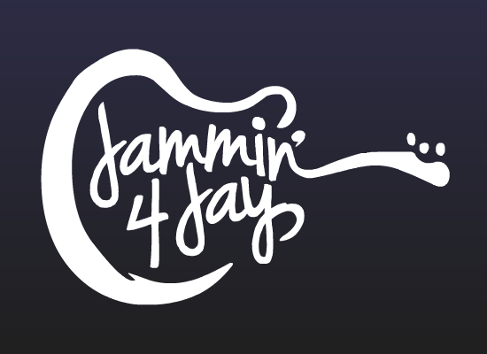 Image of Jammin' 4 Jay Official Logo Vinyl Decal