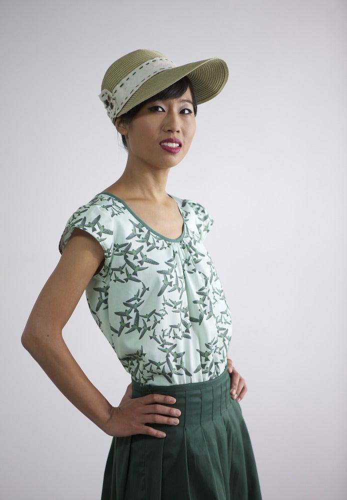 Image of MissSotoka, The birds collection, brids blouse