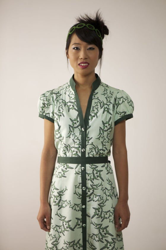 Image of MissSotoka, The birds collection, brids dress