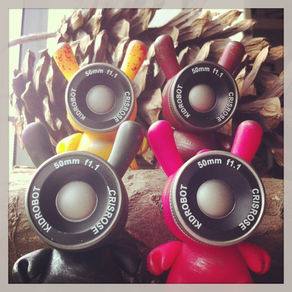 Image of 2013 Dunny AP Set of 4 / Rusted Observation Drones