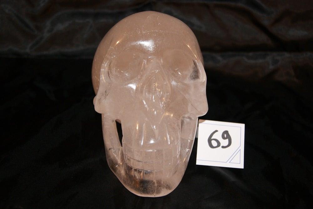 Image of Crâne Cristal  Quartz  2,140 kg